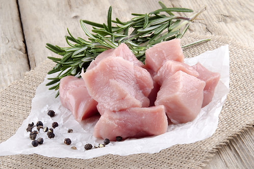 Hand Diced Chicken Breast - 500g