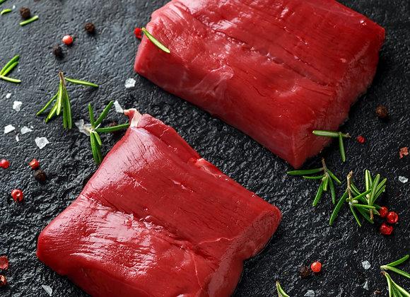 2x Venison Haunch Steaks 6oz