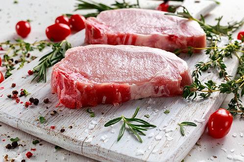Hand Cut Pork Loin Steak - 8oz