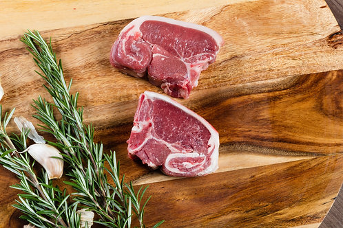 English Lamb Loin Chops - 4oz - pack of 2