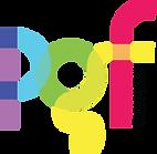 PGF Logo Black Transparent Letters On Si