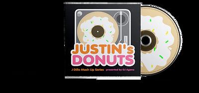 Justin's Donuts J Dilla DJ Agana Album Art 2NAI