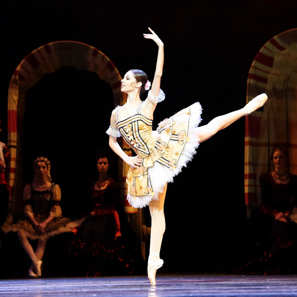 Maria Yakovleva Don Quixote First Act Kirtri Variation Nureyev