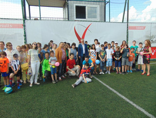 1. юни - Детски спортен празник в подкрепа на децата с аутизъм