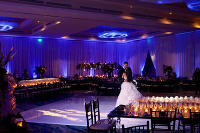 Full room up-lighting
