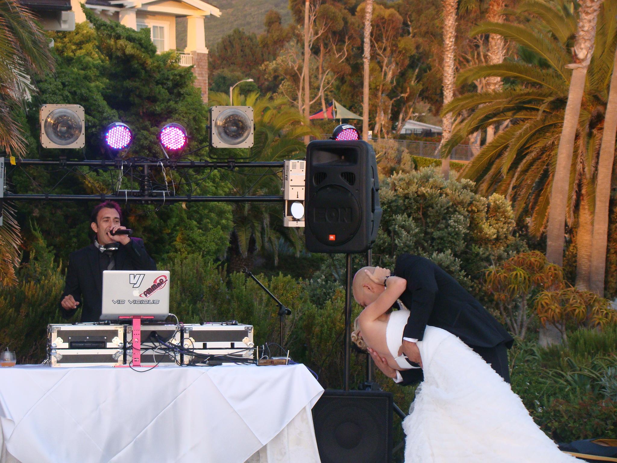 Wedding master of ceremonies