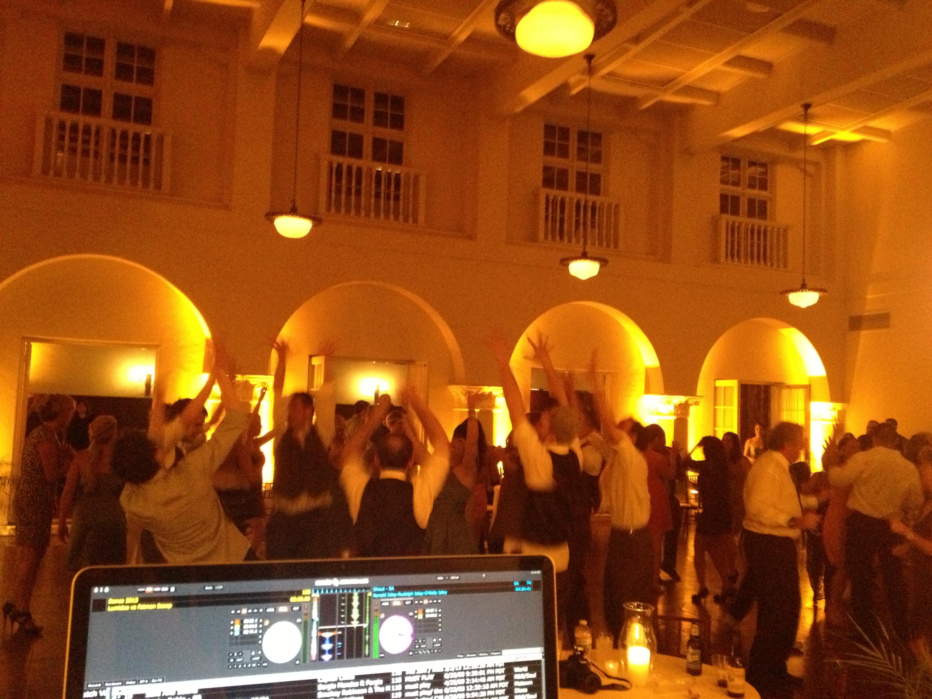 Ebell Club wedding