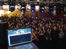 High School Prom DJ and lighting