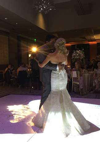 Spotlighting First Dance