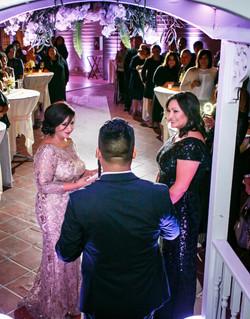 wedding at The Reef Long Beach