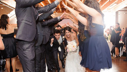 wedding tunnel Orange County