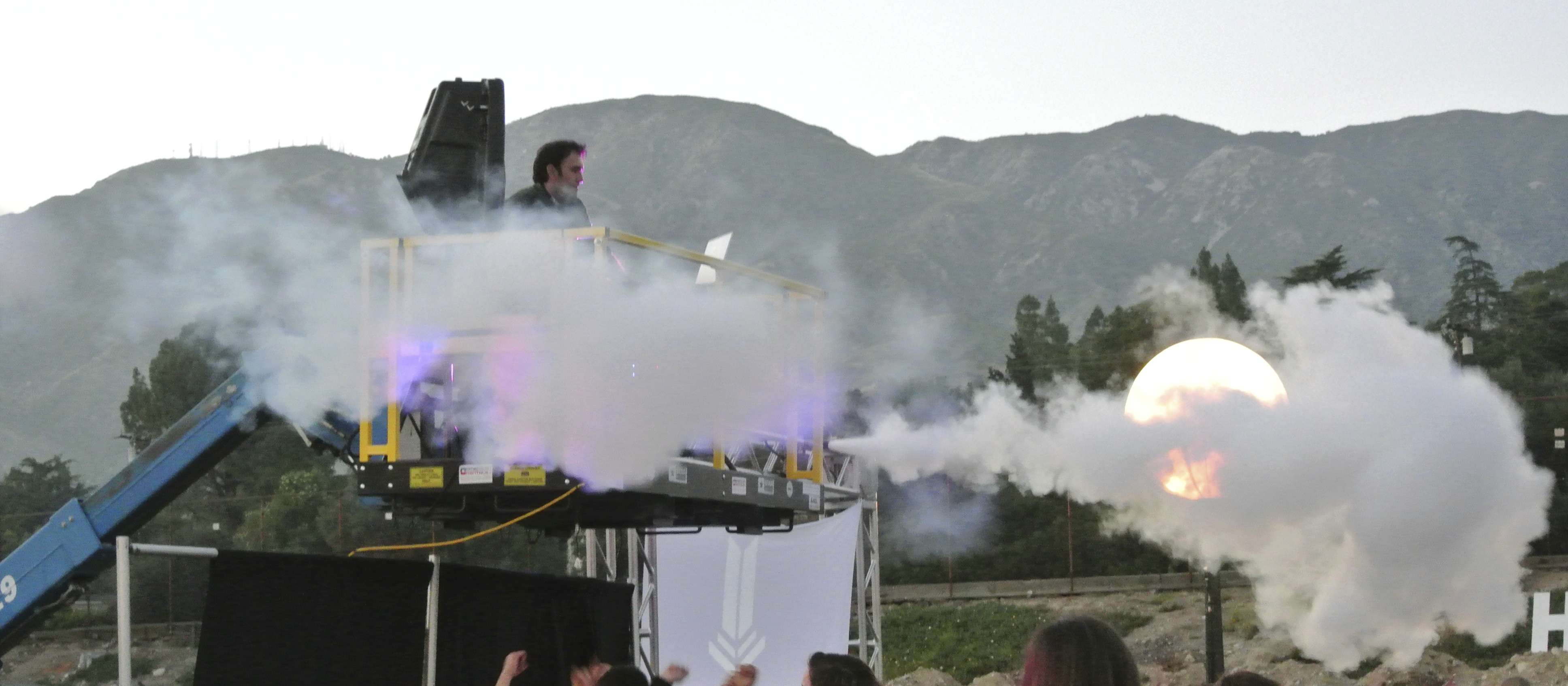 CO2 jets for events