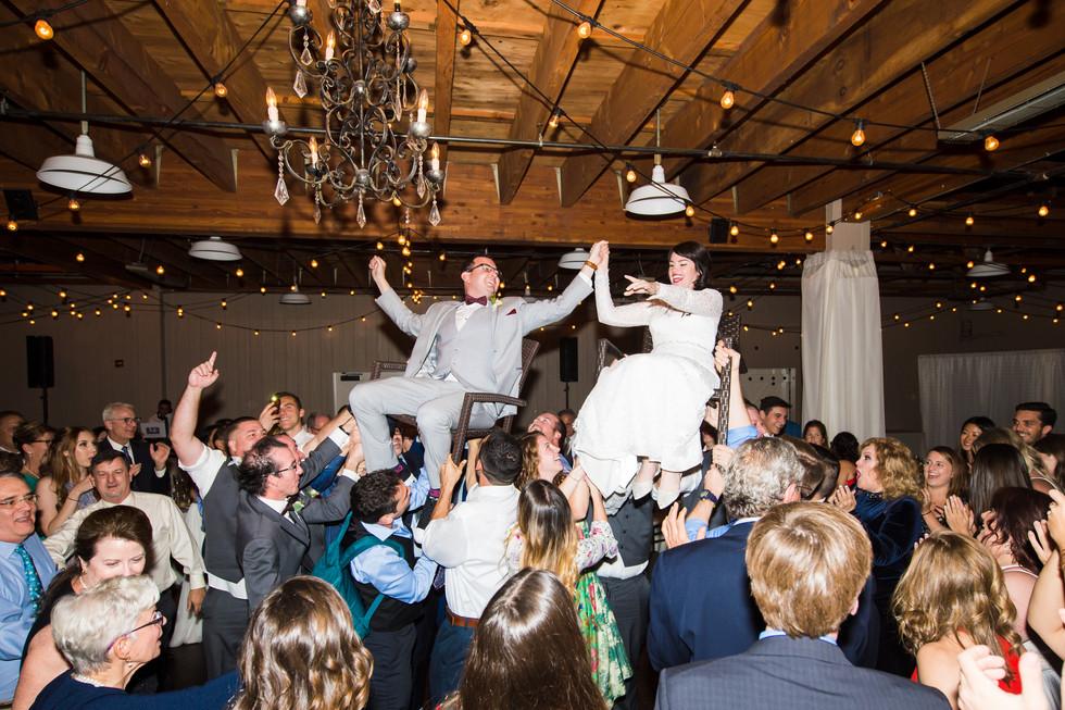 Bride and Groom Wedding Party