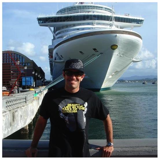 Cruise ship DJ