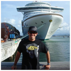 Cruise line DJ