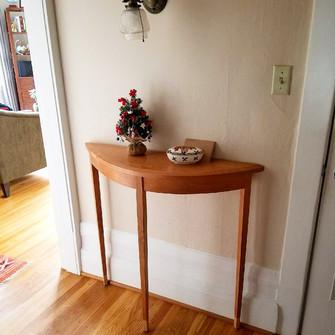 vashon demilune hall table