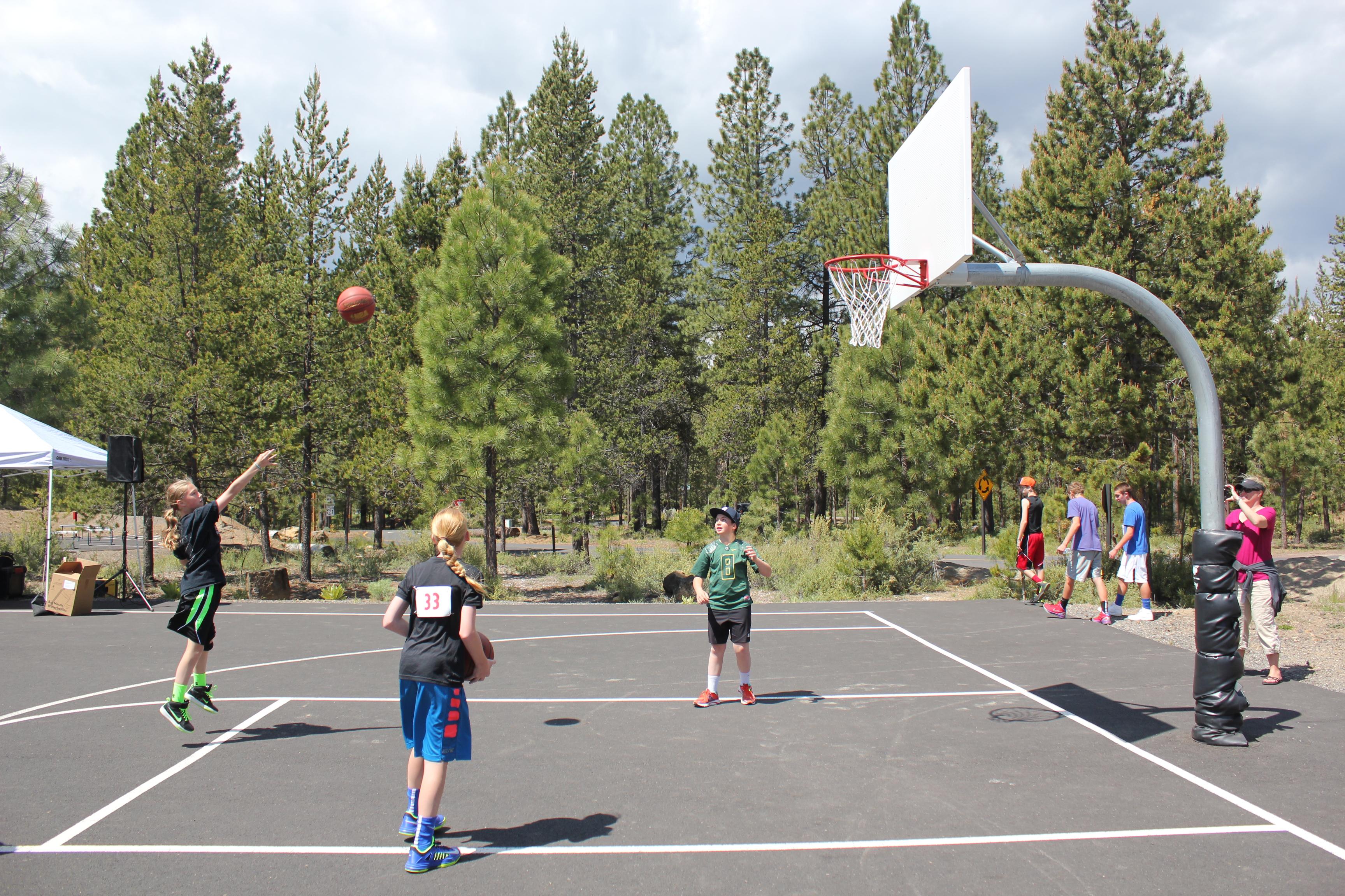 Sunriver Sharc Basketball Court
