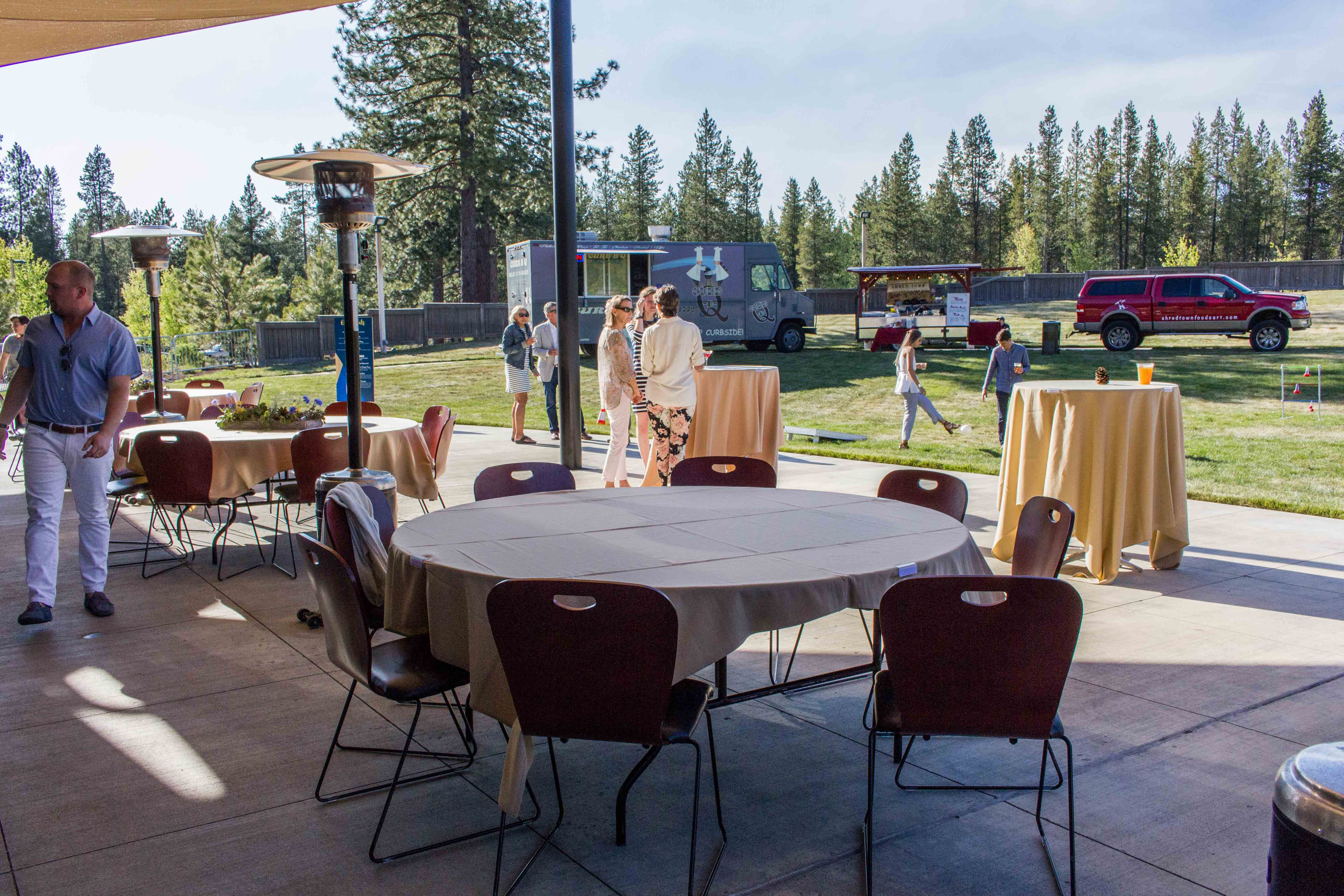SHARC Event Space Outdoor Patio