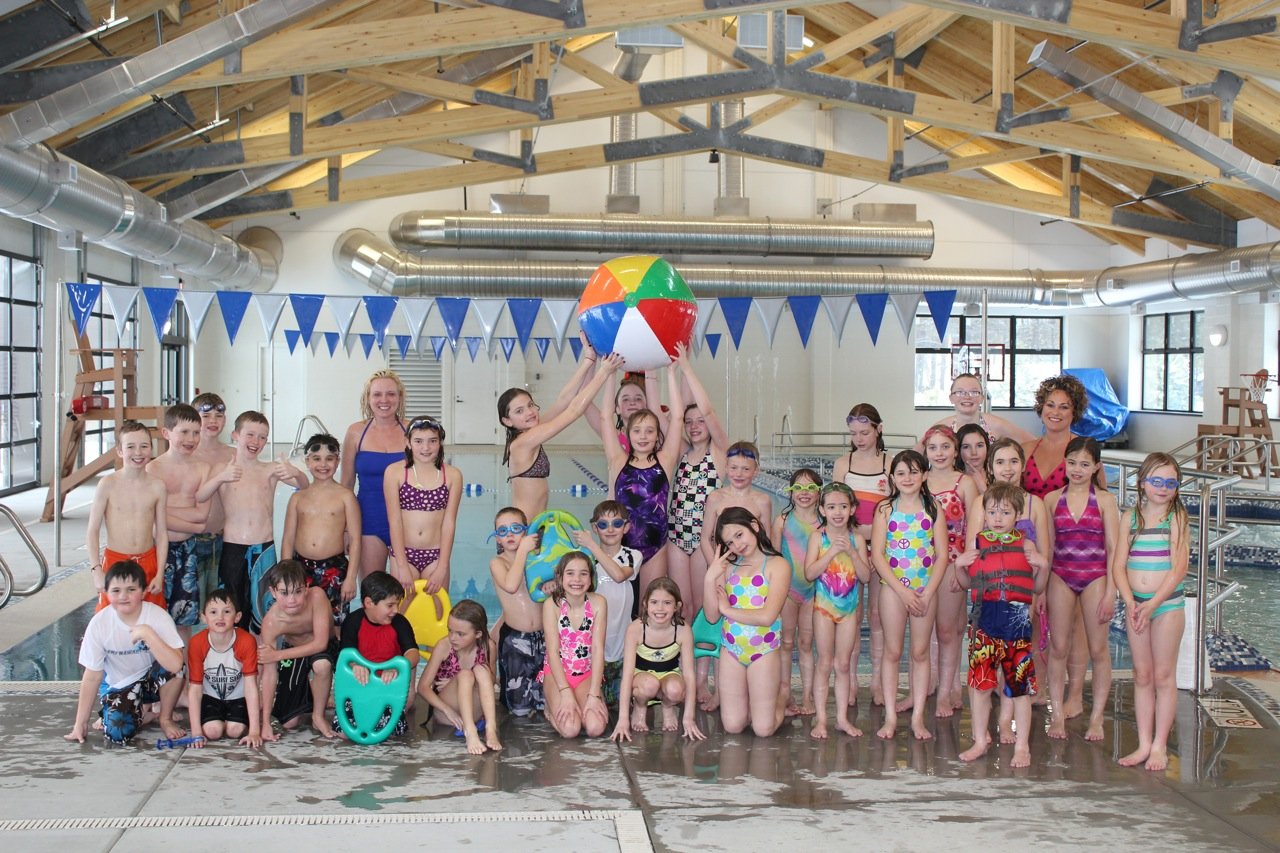 FAST Camp group photo-SHARC pool 2-29-12