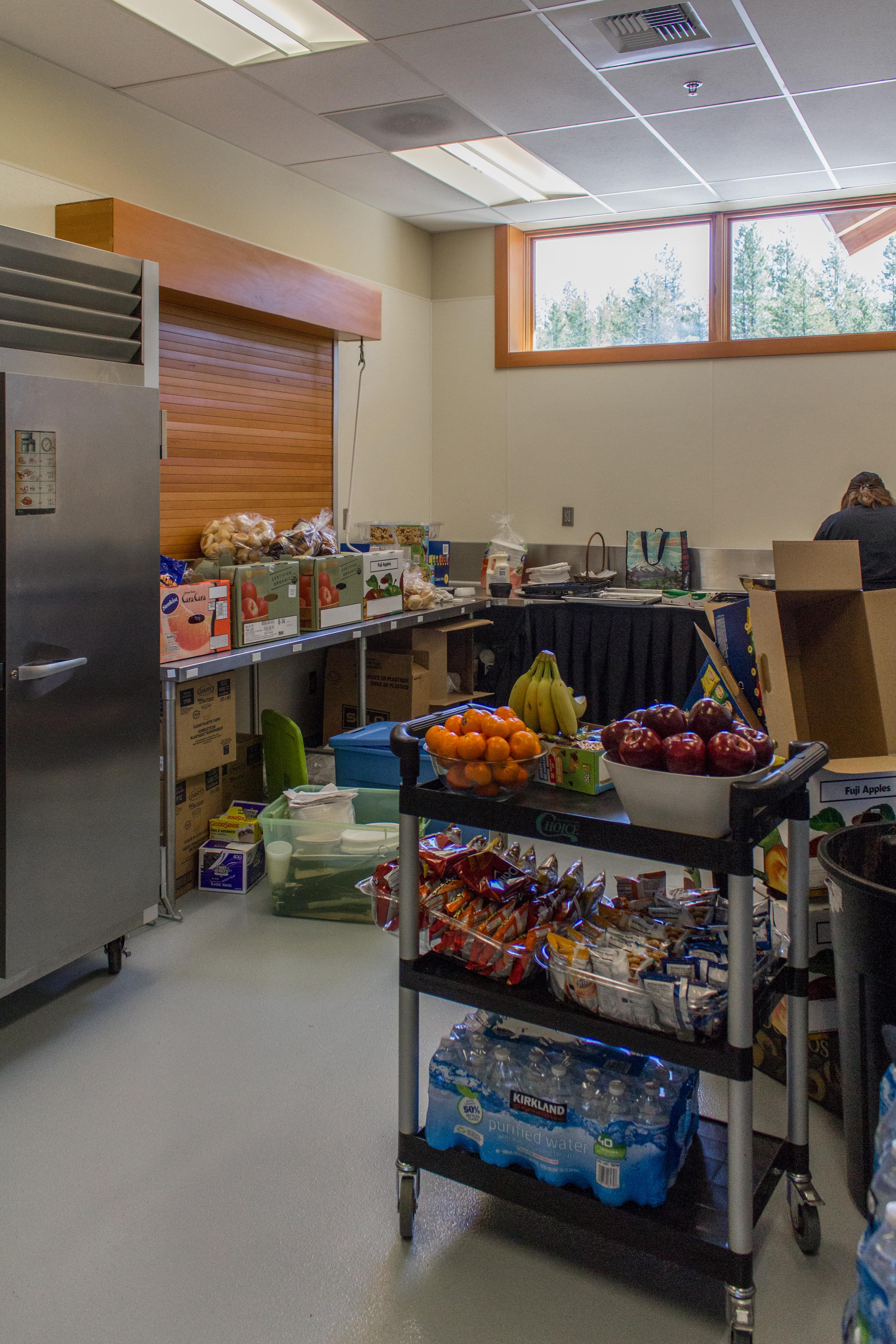 SHARC Event Hospitality Kitchen