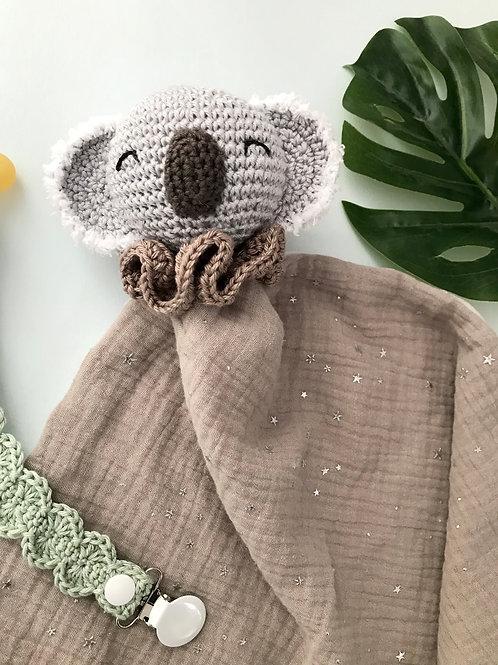 Doudou koala beige
