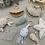 Thumbnail: Lot de 3 patrons (pieuvre/narval/coquille saint Jacques)