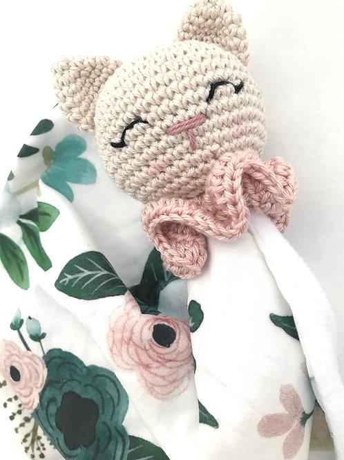 Doudou Pink cat