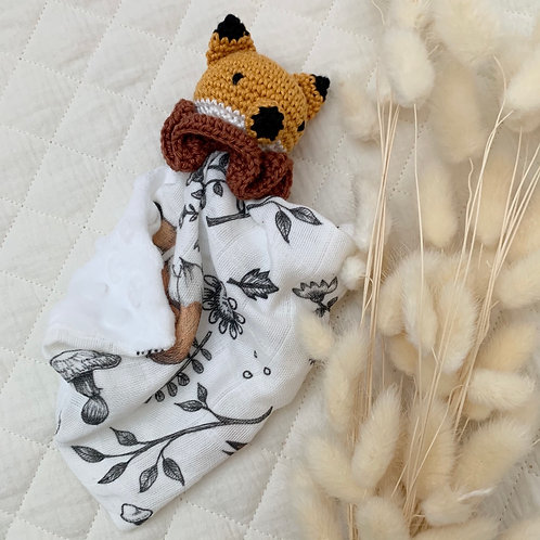 Mini doudou renard