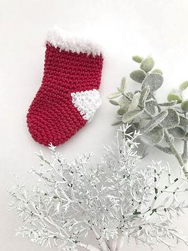 Chaussettes Amigurumi crochet Noël