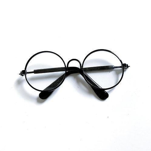Mini paire de lunettes noire