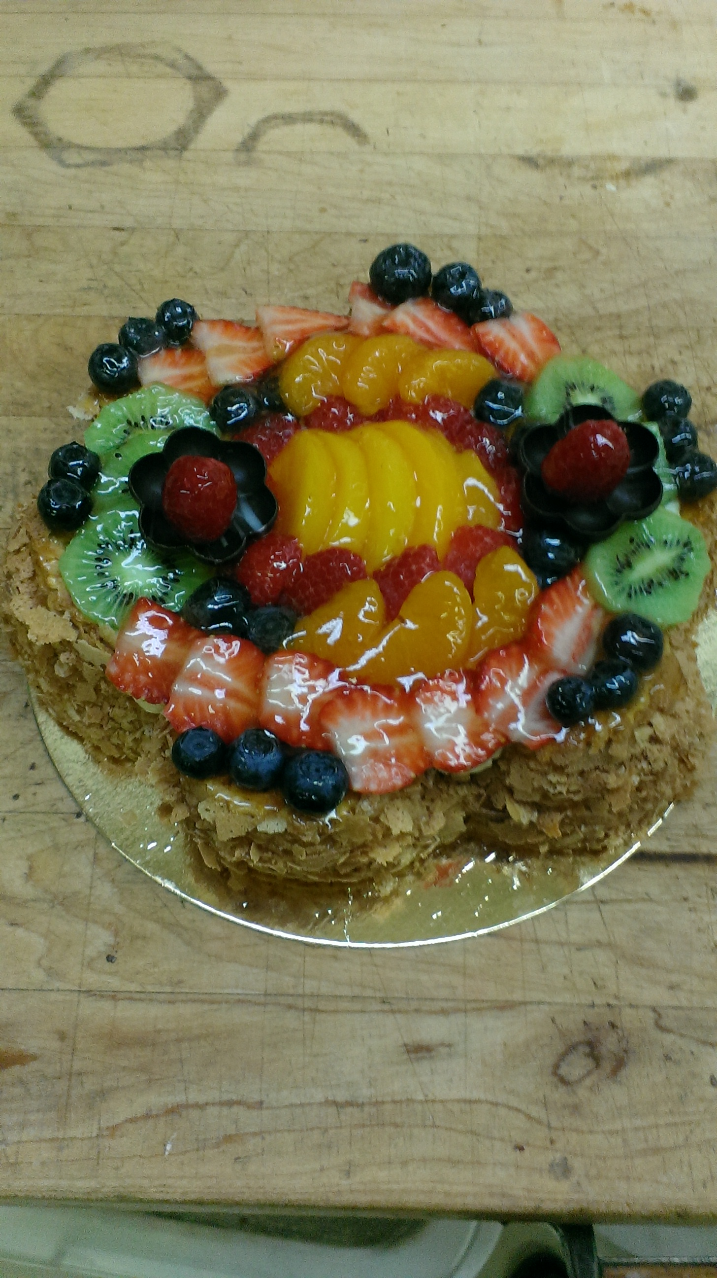 Tourte aux fruits