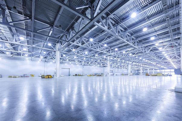 Warehouse industrial heating