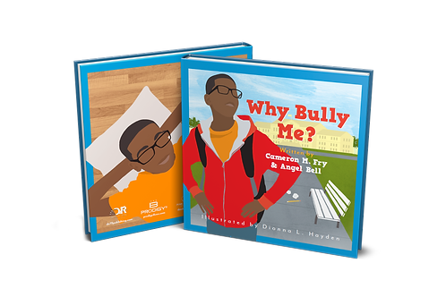 Why Bully Me? Book (HARD COVER)