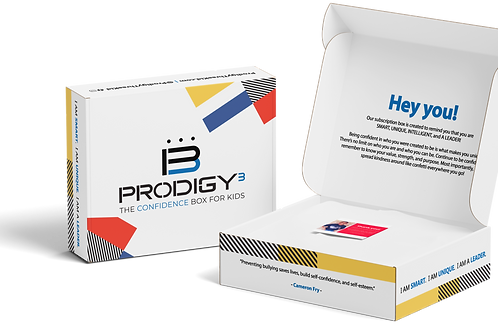 PRE-ORDER: Prodigy Three Confidence Box for Kids