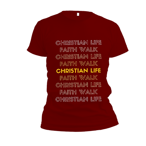 Christian Life T-Shirt (Adults)