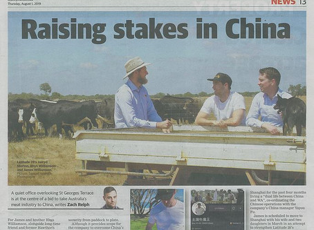 """Raising Stakes in China"""