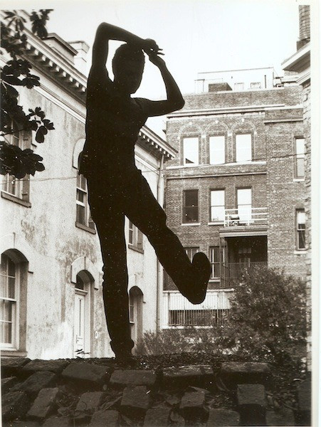 Ishmael Houston Jones In the Garden-Photo by unknown