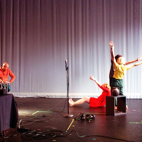 """""""Lecture on Climate"""" genre bending sound, media and dance performance for public dialog"""