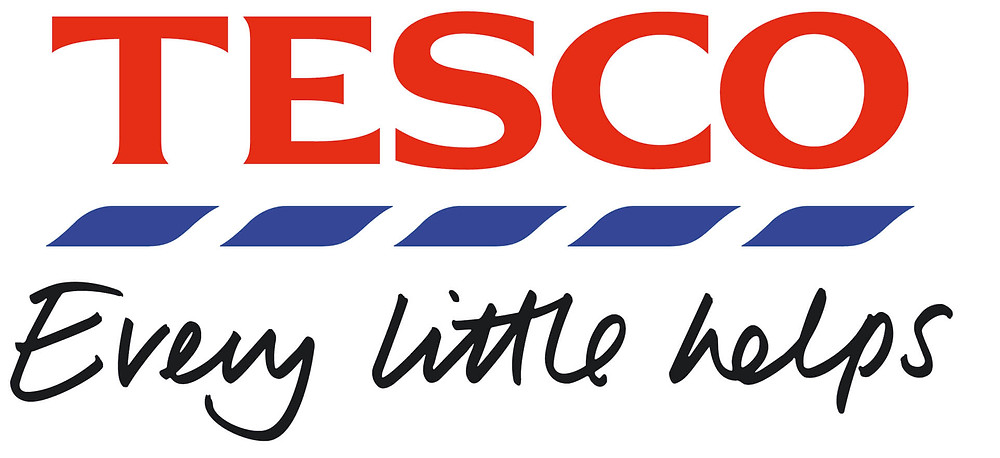 Tesco logo every little helps