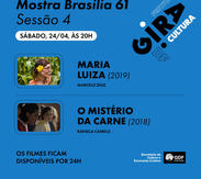 GIRA CULTURA  Mostra Brasília 61