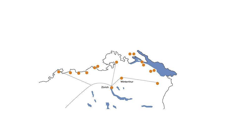 Wirkungskreise der Hochrhein-Elektrifizierung
