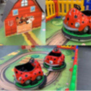 BATTERY RIDES-BABY LADYBIRD TRAIN-Compil
