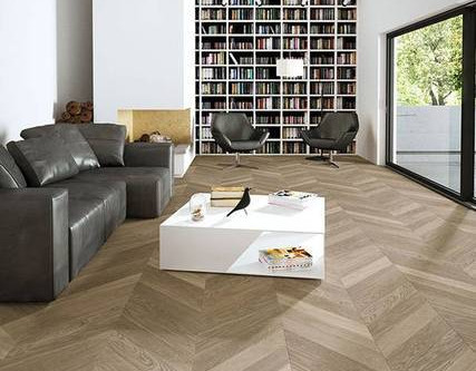 Chevron Flooring - A Contemporary Style Statement