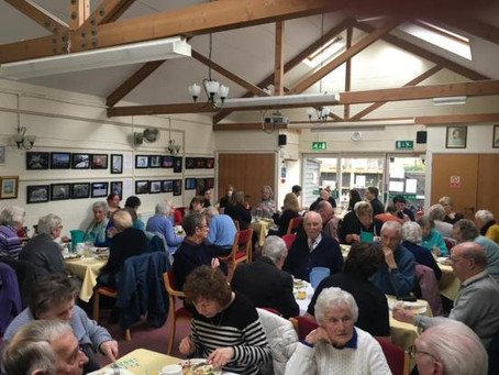Sunday 4th March – our second lunch!