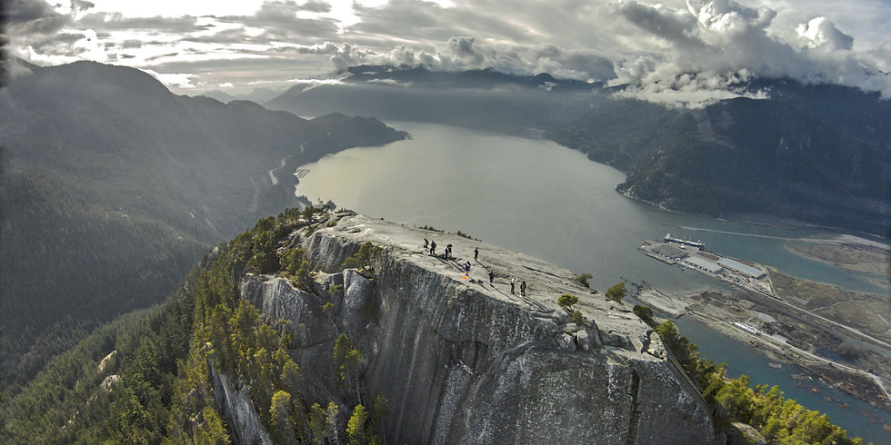 Squamish Chief Hike and Grocery Shop