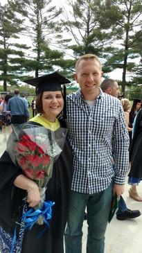 Jessica's graduation