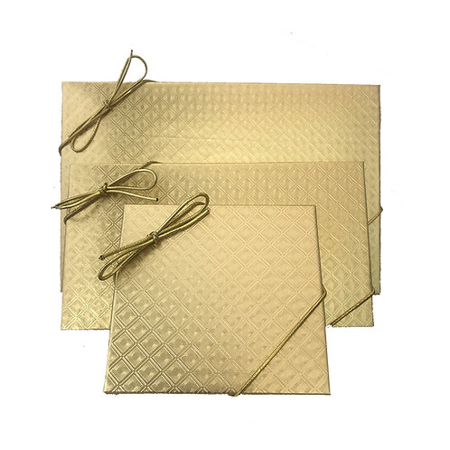 Gold Foil Box - Combination Box (Sizes Available)