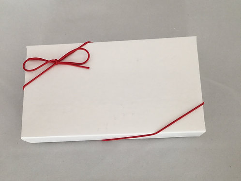Caramel Brownies Classic Box - Red Ribbon