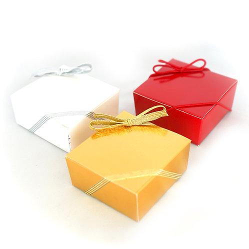 Caramel Brownies Ballotin Box (Sizes Available)