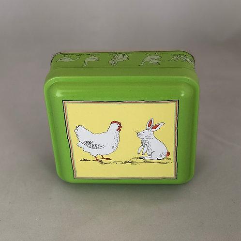 Bunny & Chick Tin - 12 Caramel or Marshmallow Brownies